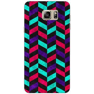 Jugaaduu Tribal Back Cover Case For Samsung S6 Edge+ - J900783