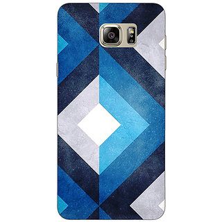 Jugaaduu Monochrome Pattern Back Cover Case For Samsung S6 Edge+ - J900791