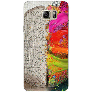 Jugaaduu Think Different Back Cover Case For Samsung S6 Edge+ - J900832