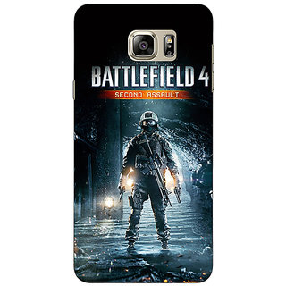 Jugaaduu Battlefield 4 Back Cover Case For Samsung S6 Edge+ - J900849