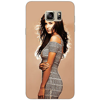 Jugaaduu Bollywood Superstar Katrina Kaif Back Cover Case For Samsung Galaxy Note 5 - J910993