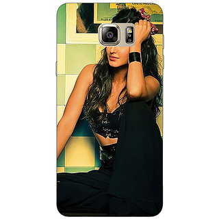 Jugaaduu Bollywood Superstar Katrina Kaif Back Cover Case For Samsung Galaxy Note 5 - J911009