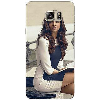 Jugaaduu Bollywood Superstar Deepika Padukone Back Cover Case For Samsung Galaxy Note 5 - J911019