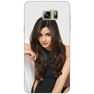 Jugaaduu Bollywood Superstar Alia Bhatt Back Cover Case For Samsung Galaxy Note 5 - J911027