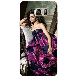 Jugaaduu Bollywood Superstar Deepika Padukone Back Cover Case For Samsung Galaxy Note 5 - J911037