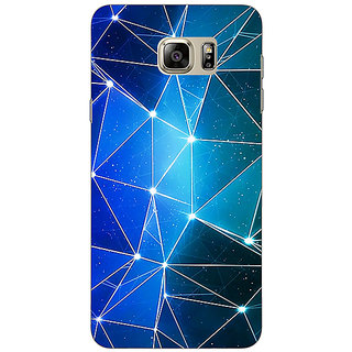 Jugaaduu Crystal Prism Back Cover Case For Samsung Galaxy Note 5 - J911446