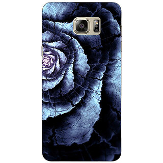 Jugaaduu Abstract Flower Pattern Back Cover Case For Samsung S6 Edge+ - J901506