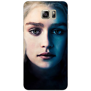 Jugaaduu Game Of Thrones GOT Khaleesi Daenerys Targaryen Back Cover Case For Samsung S6 Edge+ - J901551