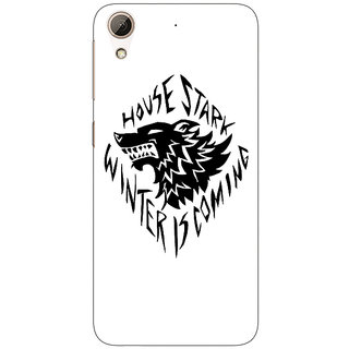 Jugaaduu Game Of Thrones GOT House Stark  Back Cover Case For HTC Desire 626 - J920127