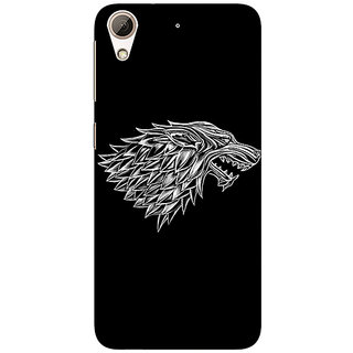 Jugaaduu Game Of Thrones GOT House Stark  Back Cover Case For HTC Desire 626 - J920136