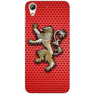Jugaaduu Game Of Thrones GOT House Lannister  Back Cover Case For HTC Desire 626 - J920155