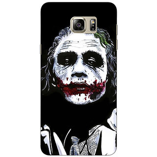 Jugaaduu Villain Joker Back Cover Case For Samsung Galaxy Note 5 - J910048