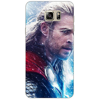 Jugaaduu Thor  Back Cover Case For Samsung S6 Edge+ - J900884