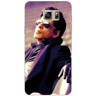 Jugaaduu Bollywood Superstar Shahrukh Khan Back Cover Case For Samsung S6 Edge+ - J900910