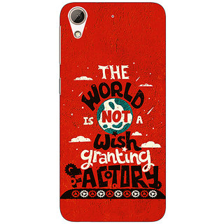 Jugaaduu TFIOS Wish Granting Factory  Back Cover Case For HTC Desire 626G - J930113
