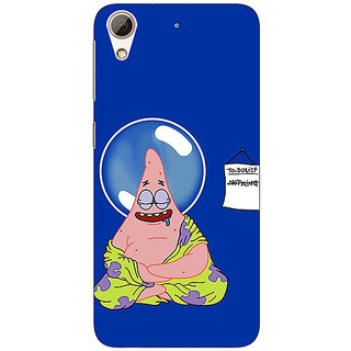 Jugaaduu Spongebob Patrick Back Cover Case For HTC Desire 626G - J930472