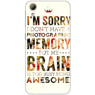 Jugaaduu SUITS Quotes Back Cover Case For HTC Desire 626G - J930481