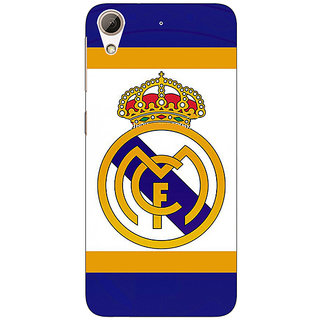 Jugaaduu Real Madrid Back Cover Case For HTC Desire 626 - J920594