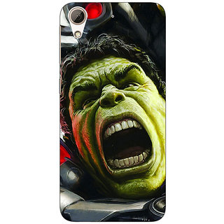 Jugaaduu Super Heroes Hulk Age of Ultron Back Cover Case For HTC Desire 626G - J930845