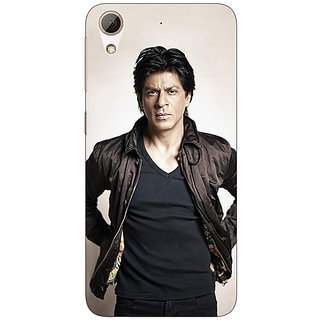 Jugaaduu Bollywood Superstar Shahrukh Khan Back Cover Case For HTC Desire 626 - J920935