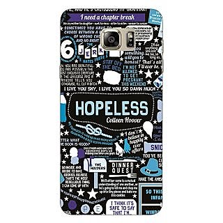 Jugaaduu TFIOS HOPELESS  Back Cover Case For Samsung Galaxy Note 5 - J910108
