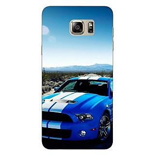 Jugaaduu Super Car Mustang Back Cover Case For Samsung S6 Edge+ - J900632