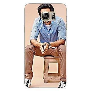 Jugaaduu Bollywood Superstar Ranveer Singh Back Cover Case For Samsung S6 Edge+ - J900921