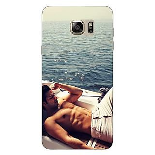 Jugaaduu Bollywood Superstar Varun Dhawan Back Cover Case For Samsung S6 Edge+ - J900931