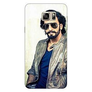Jugaaduu Bollywood Superstar Ranveer Singh Back Cover Case For Samsung S6 Edge+ - J900943