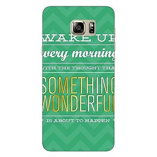 Jugaaduu Quotes Something Wonderful Back Cover Case For Samsung Galaxy Note 5 - J911157