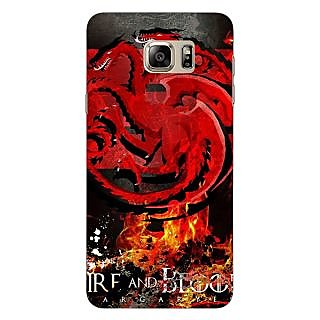 Jugaaduu Game Of Thrones GOT Targaryen Back Cover Case For Samsung Galaxy Note 5 - J911531