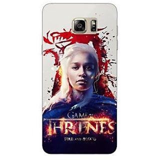 Jugaaduu Game Of Thrones GOT Khaleesi Daenerys Targaryen Back Cover Case For Samsung Galaxy Note 5 - J911539