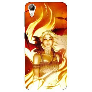 Jugaaduu Game Of Thrones GOT House Targaryen  Back Cover Case For HTC Desire 626G - J930146