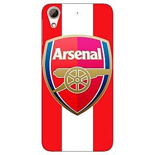 Jugaaduu Arsenal Back Cover Case For HTC Desire 626G - J930509