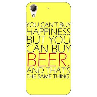 Jugaaduu Beer Quote Back Cover Case For HTC Desire 626G - J931231