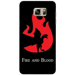 Jugaaduu Game Of Thrones GOT House Targaryen  Back Cover Case For Samsung Galaxy Note 5 - J910143
