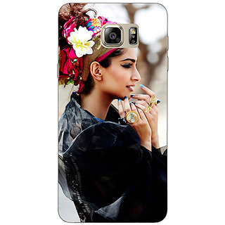 Jugaaduu Bollywood Superstar Sonam Kapoor Back Cover Case For Samsung S6 Edge+ - J900984