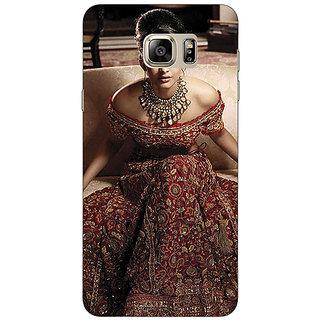 Jugaaduu Bollywood Superstar Sonam Kapoor Back Cover Case For Samsung S6 Edge+ - J901000