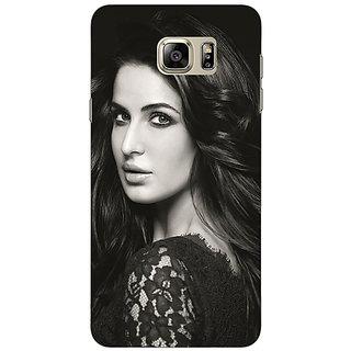 Jugaaduu Bollywood Superstar Katrina Kaif Back Cover Case For Samsung S6 Edge+ - J901005