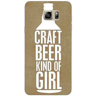 Jugaaduu Beer Quote Back Cover Case For Samsung Galaxy Note 5 - J911219