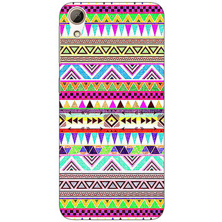 Jugaaduu Aztec Girly Tribal Back Cover Case For HTC Desire 626 - J920051