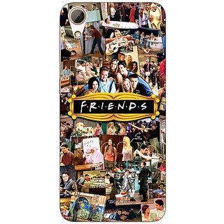 Jugaaduu FRIENDS Back Cover Case For HTC Desire 626G+ - J940443