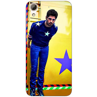 Jugaaduu Bollywood Superstar Siddharth Malhotra Back Cover Case For HTC Desire 626G - J930944