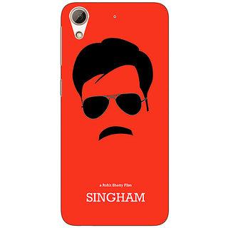 Jugaaduu Bollywood Superstar Singham Back Cover Case For HTC Desire 626 - J921079