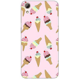 Jugaaduu Ice Cream Doodle Back Cover Case For HTC Desire 626G - J931326
