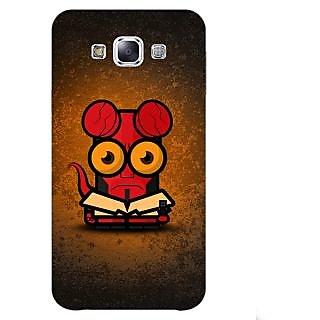 Jugaaduu Big Eyed Superheroes Hell Boy Back Cover Case For Samsung Galaxy A3 - J570400