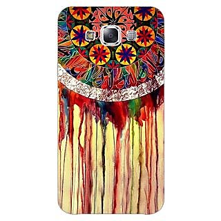 Jugaaduu Abstract Dream Catcher Pattern Back Cover Case For Samsung Galaxy A3 - J571508
