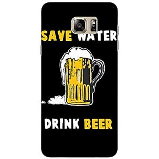 Jugaaduu Beer Quote Back Cover Case For Samsung Galaxy Note 5 - J911262