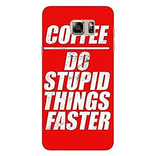 Jugaaduu Coffee Quote Back Cover Case For Samsung Galaxy Note 5 - J911269