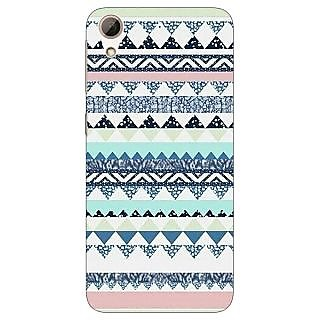 Jugaaduu Aztec Girly Tribal Back Cover Case For HTC Desire 626 - J920073